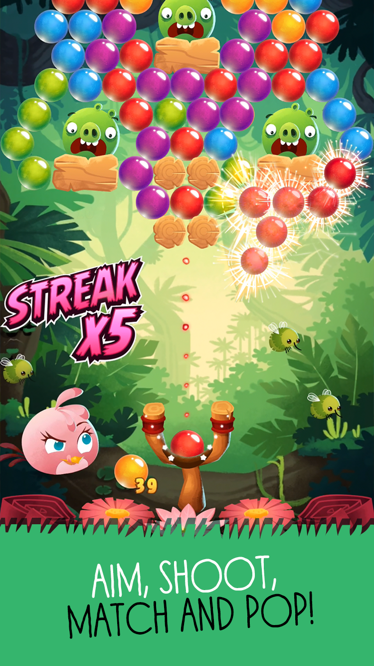 Angry Birds POP Bubble Shooter screenshot #3