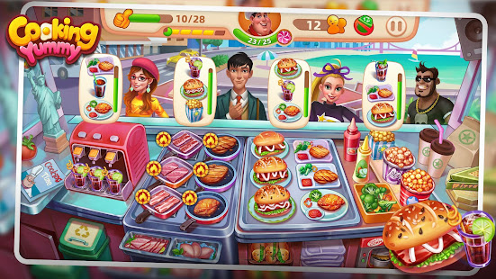 Download Cooking Yummy-Restaurant Game For PC Windows and Mac apk screenshot 1