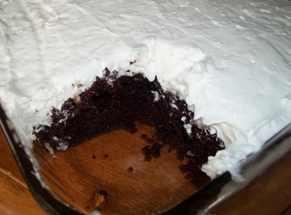 Yum!...The frosting really makes the cake. I could eat it by the spoonfuls...lol!