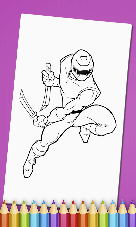 Ninja Coloring Book Game - Android Apps on Google Play