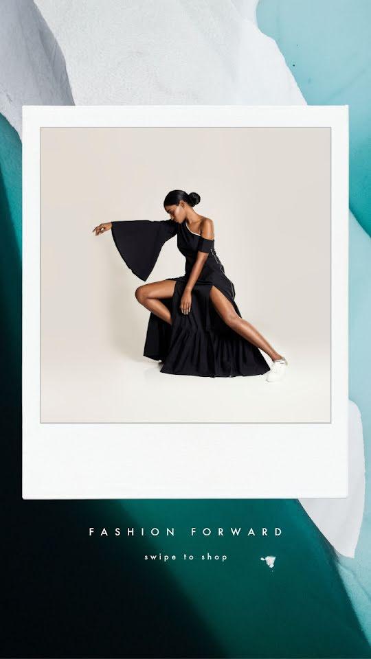 Fashion Forward Frame - Facebook Story Template