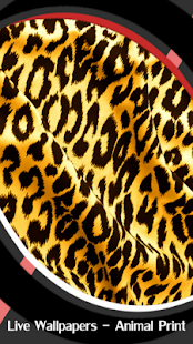 Live Wallpapers - Animal Print - náhled