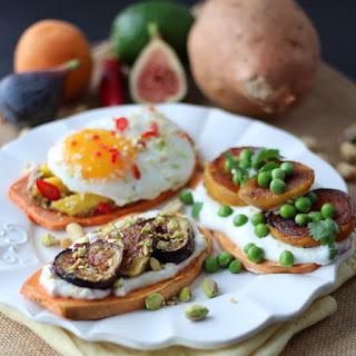Sweet Potato Toast – 3 Ways! | Gluten Free, Paleo, Vegan Option