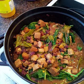 Spicy Thai Tofu Curry.