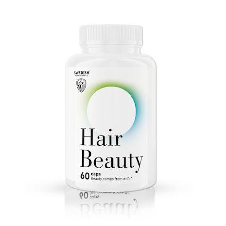 Swedish Supplements Hair Beauty - 60 caps