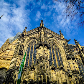Aachen Dom by Babor Ali Khan - Instagram & Mobile iPhone