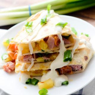 Hawaiian Quesadillas