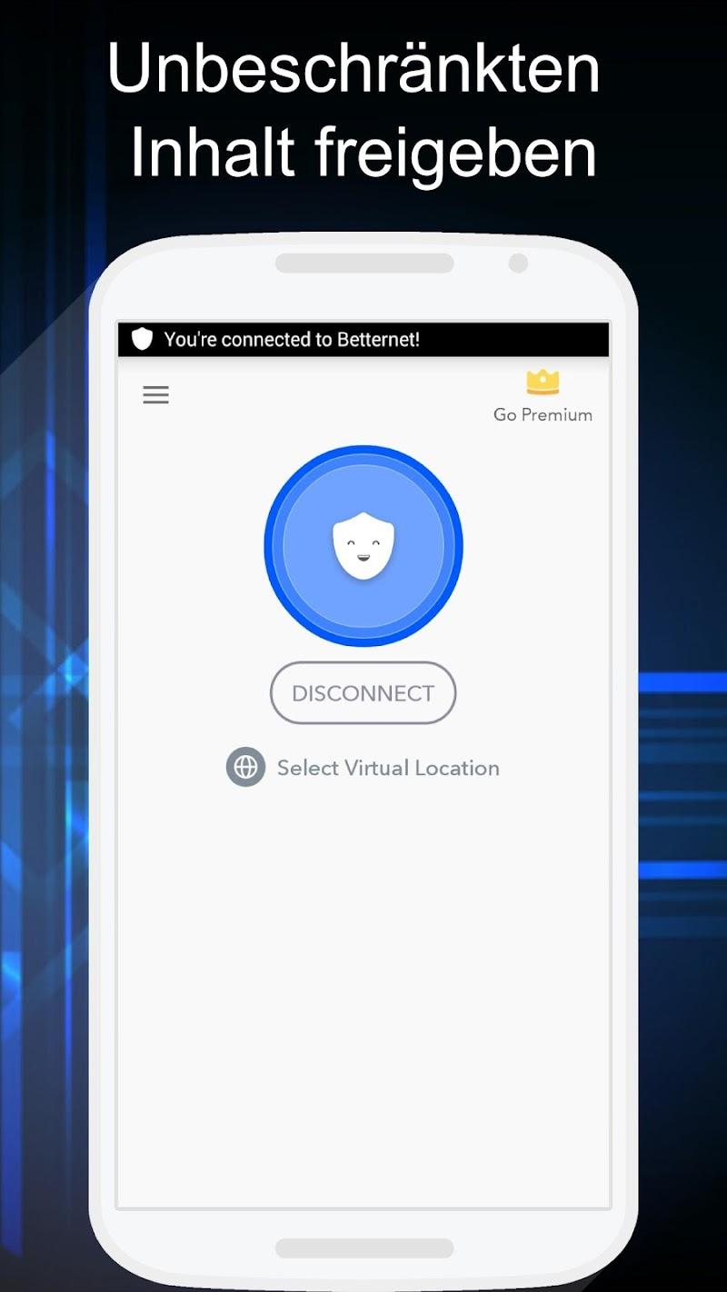 VPN Free – Betternet Hotspot VPN & Private Browser v5.5.0 [Premium Mod] APK [Latest]