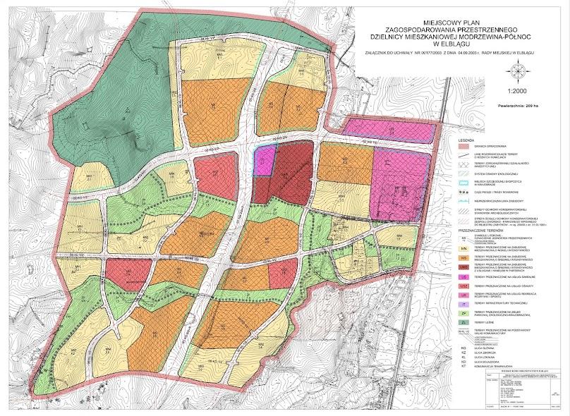 Miejscowy Plan Zagospodarowania Przestrzennego - przykład