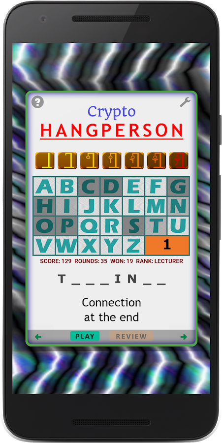 Crypto Hangperson- screenshot
