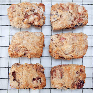 Roast Pear And Fig Scones.