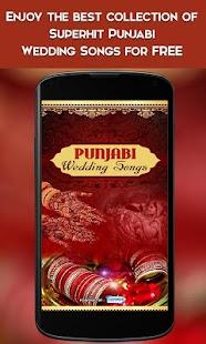 Punjabi Wedding Songs Screenshot Thumbnail