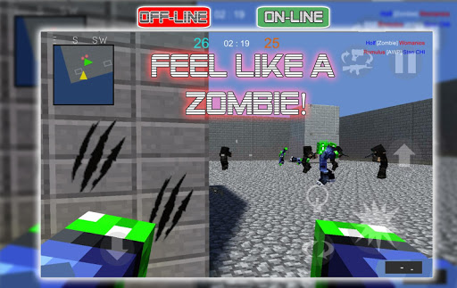 War Cube Online Offline Mobile Zombie Sniper Shoot 0.8 screenshots 2