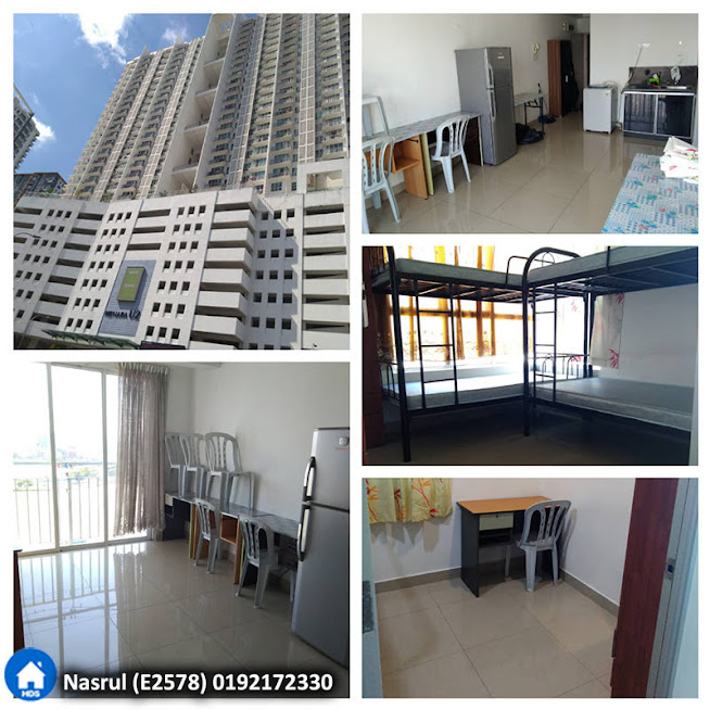 Unit Servis Apartment di Menara U2, Shah Alam