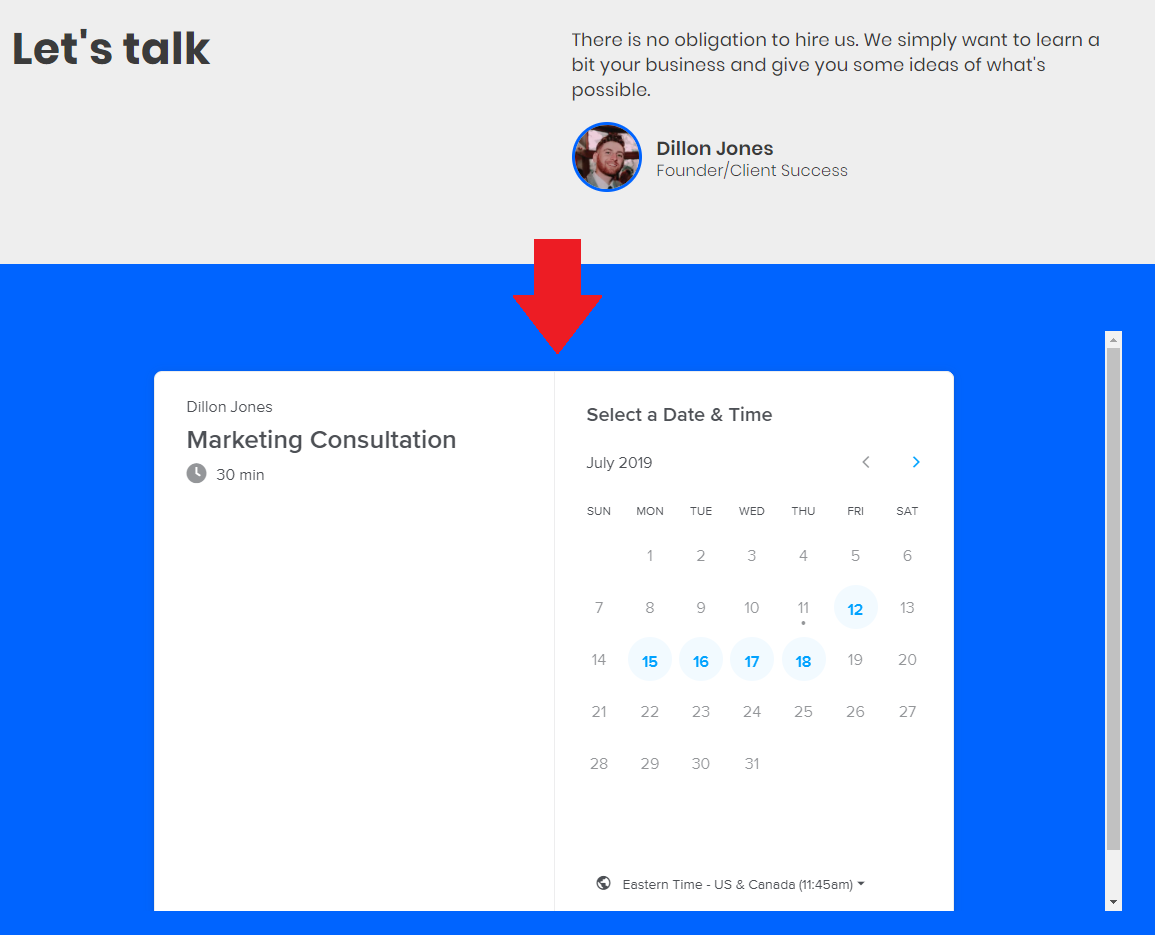 How to book a consultation for SEO Tips For Contractors