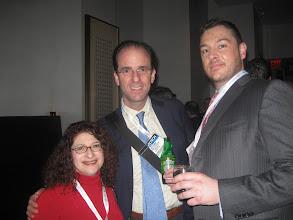 Photo: Lisa Solomon, Ken Adams and Joe Bahgat