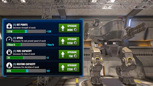 Mech Wars  captures d'écran 2