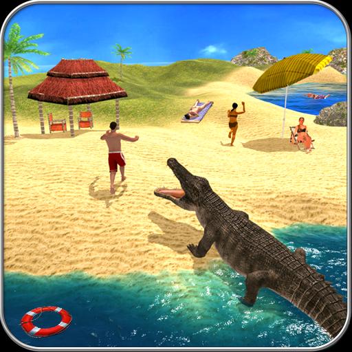 Hungry Crocodile Attack Simulator 2017: Wild Crocs