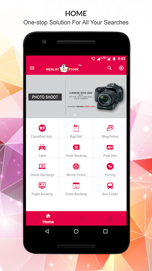 Weblist Store - Classifieds & Online Shopping App- screenshot