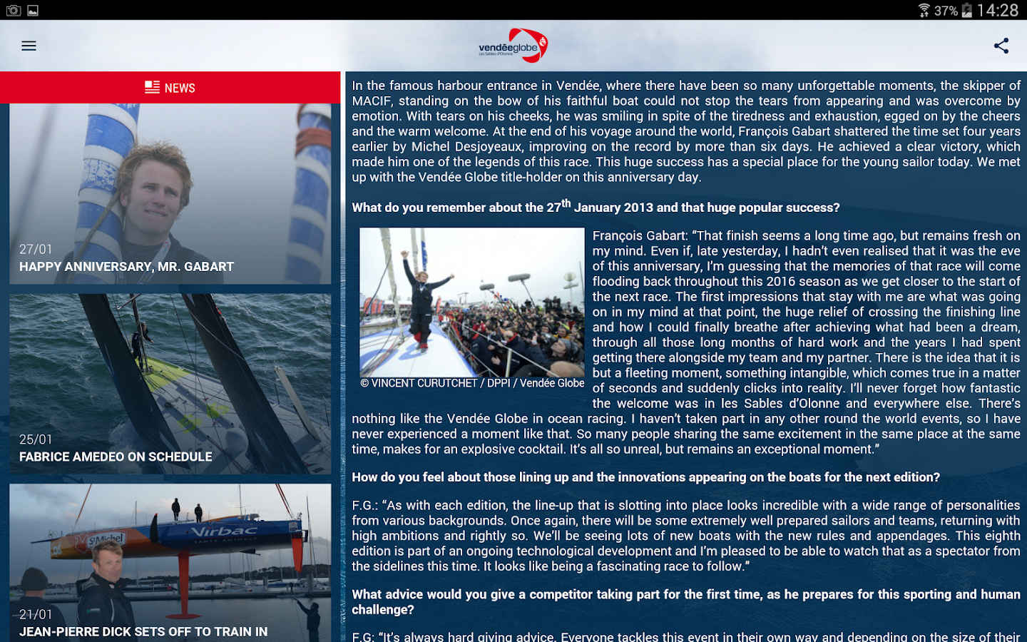 Vendée Globe 2016- screenshot