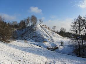 Photo: Merkinės piliakalnis