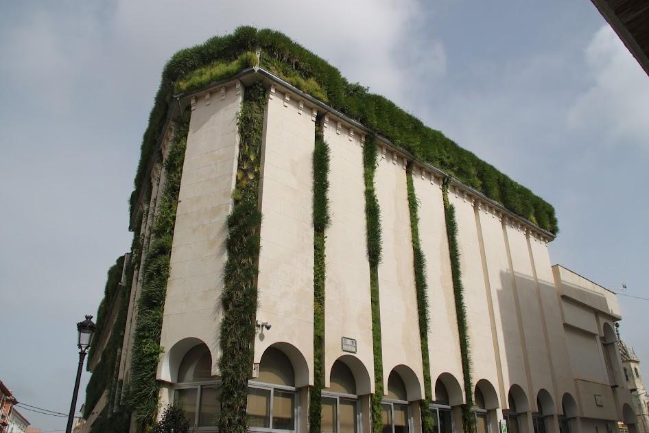 Jardín vertical en Lucena