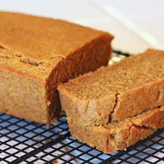 Gluten Free Vegan Pumpkin Bread.
