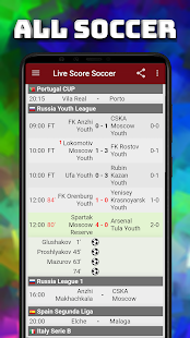 Live Scores Soccer Sport Football Match Results Apps On