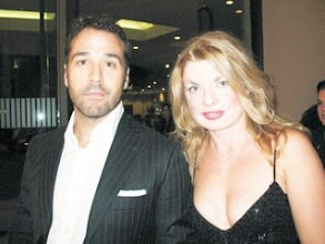 Photo: Adrienne Papp and Jeremy Piven