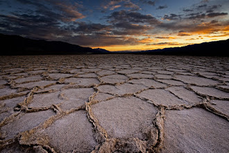 Photo: Badwater Sunset  Yeah, I'm not drinking any water from this place. But I sure will stand here to capture the sunset. During the trip to Death Valley I think this may have been my favorite spot we shot. The landscape was stark yet beautiful and the salt formations were otherworldly.  If you want a great synopsis of our trip click on this link. Matt's already said here most of what needs to be said so I'll save my breath and your time http://www.mattk.com/2013/01/21/photographing-death-valley-my-trip-recap/  #dvonewaytrip13