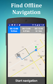 Offline GPS Maps Navigation and Directions