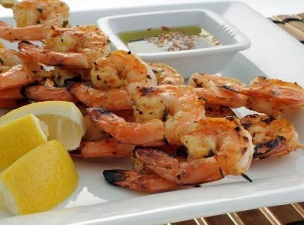 Grilled Seasoned Shrimp