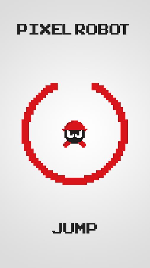 Pixel Robot Jump Saga