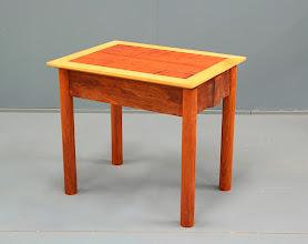 Photo: small table - Tas Blackwood, Huon pine John Elkins