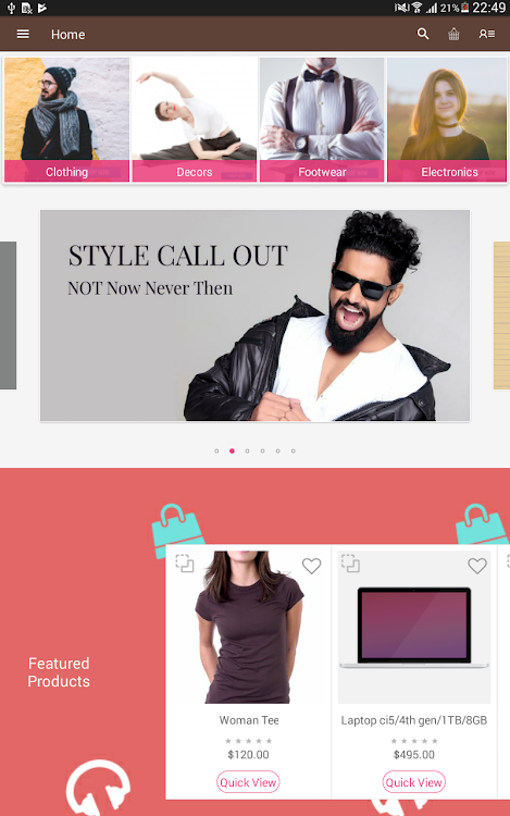 Multi Vendor Mobile App For Magento 2 – (Android Aplikace) — AppAgg