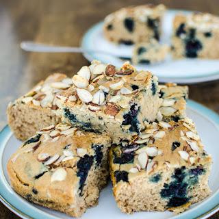 Blueberry Snack Cake- Vegan and GF