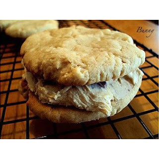 Peanutbutter Sandwich Cookies