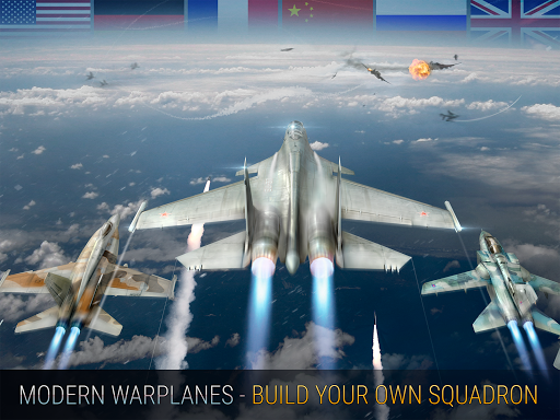 Modern Warplanes: Sky fighters PvP Jet Warfare screenshots 12