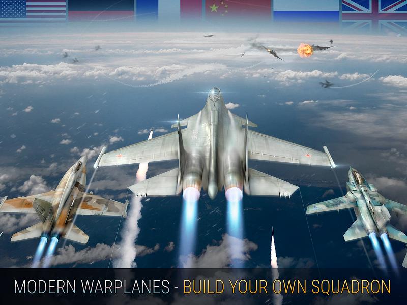 Modern Warplanes: Wargame Shooter PvP Jet Warfare Screenshot 13