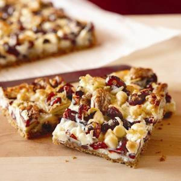 Coconut Cranberry Bars Recipe
