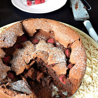 Flourless Chocolate and Raspberry Torte