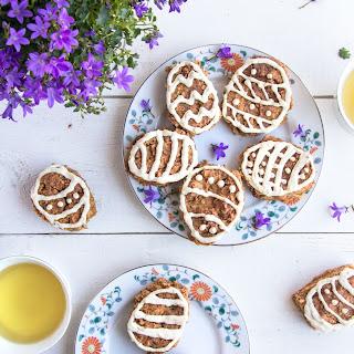 Gluten Free Carrot Cake Easter Eggs Recipe