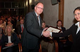 Photo: Kandidaten Galenus Geneesmiddelenprijs 2004 in Naturalis in Leiden foto © Bart Versteeg