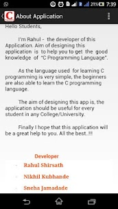 Learn C Programming App Download For Android 7