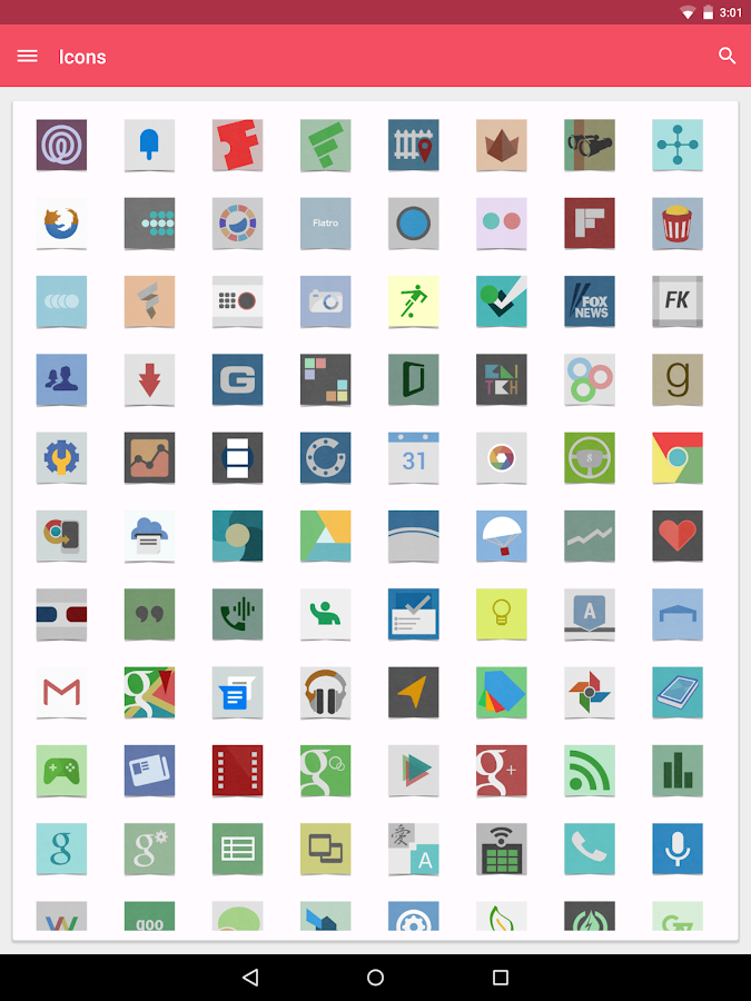 Cardstock Icon Pack- screenshot