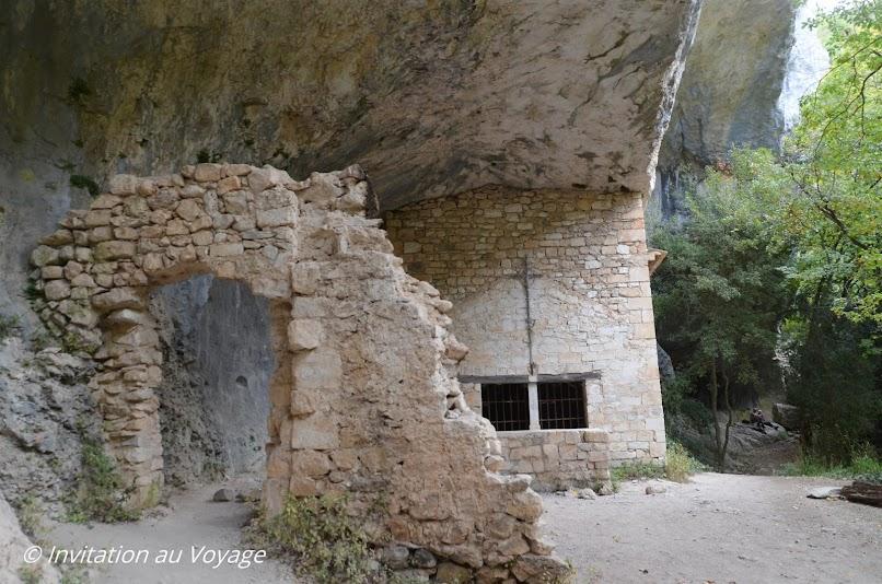 Gorges de la Nesque, chapelle St Michel