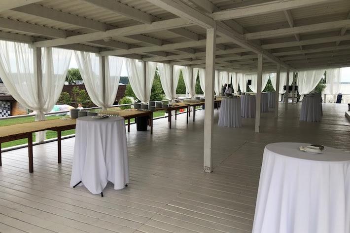 Фото №10 зала Большой шатер с верандой