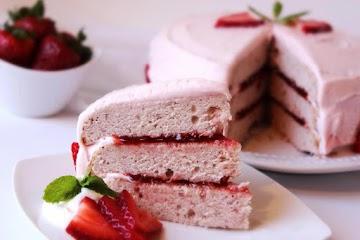Strawberry Jam Cake Recipe