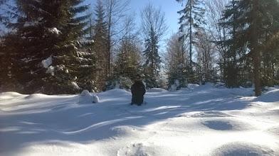 Photo: Śniegu trochę było :)