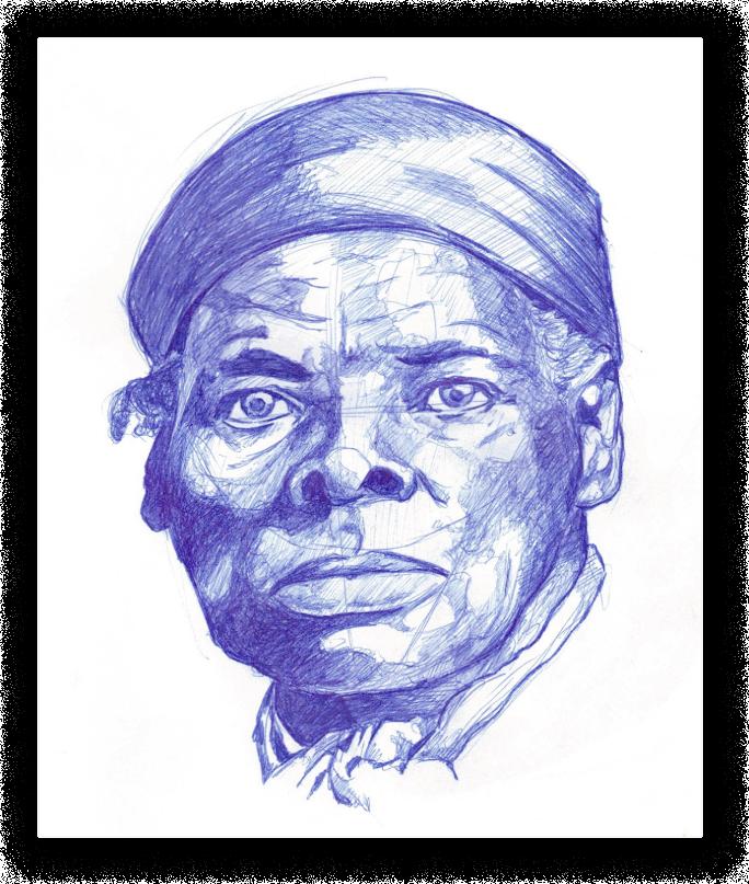 Harriett Tubman portrait